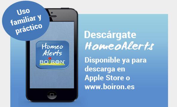 Homeoalerts, una app para ayudarte a seguir tu tratamiento