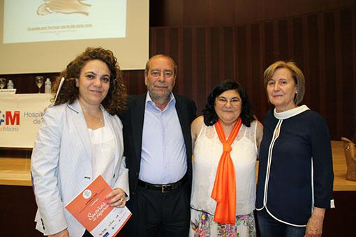 Natalia Pedroviejo, Programa JUNTOS de BOIRON, Alcalde de Fuenlabrada, Magdalena Diez y Marga Barrios, Concejala de Salud