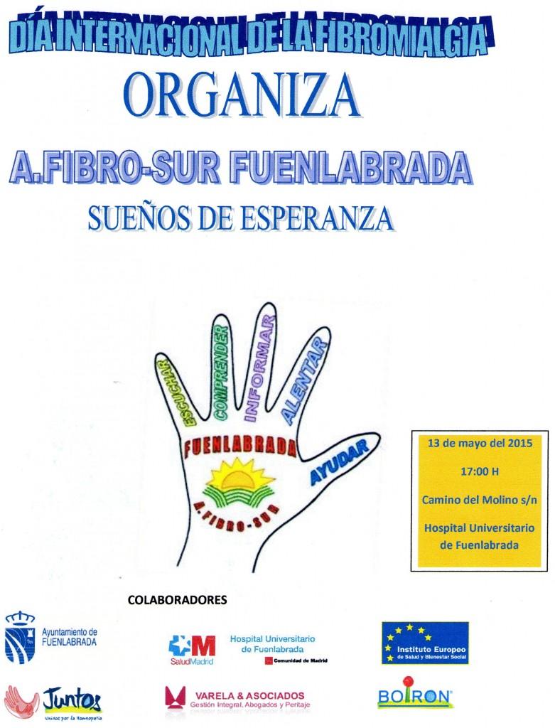 Cartel AFIBROSUR congreso Fibromialgia