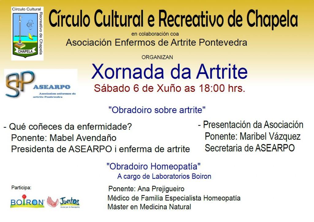 Jornada sobre homeopatía y artritis en Pontevedra