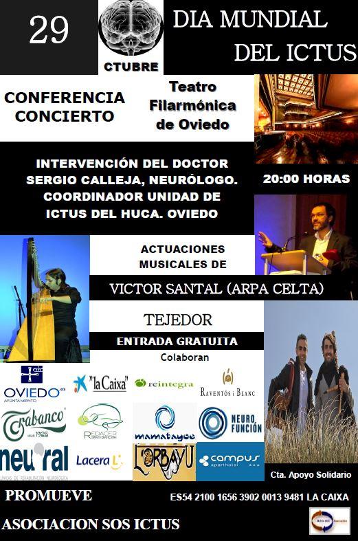 Conferencia-concierto en el Día Mundial del Ictus