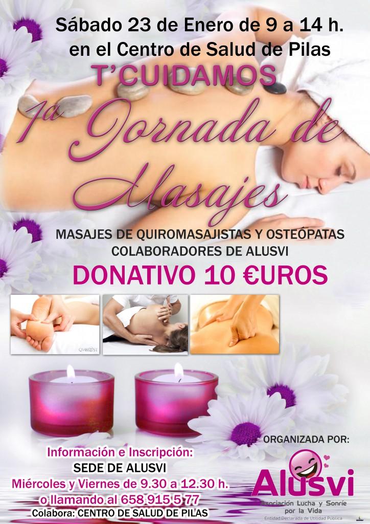 ALUSVI organiza una jornada de masajes el próximo 23 de febrero