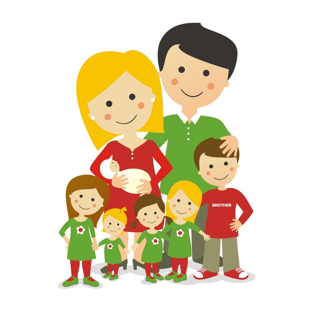 Familia Numerosa de 8 miembros