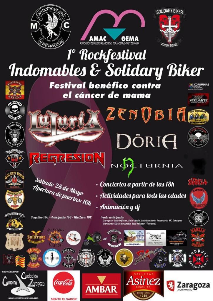 AMAC GEMA concierto de rock